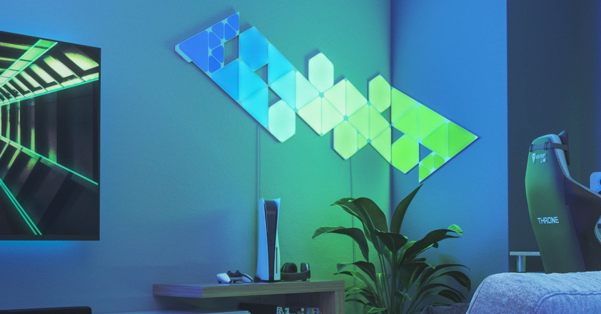 Nanoleaf's new Shapes HomeKit starter kits and expansions are on sale from $60