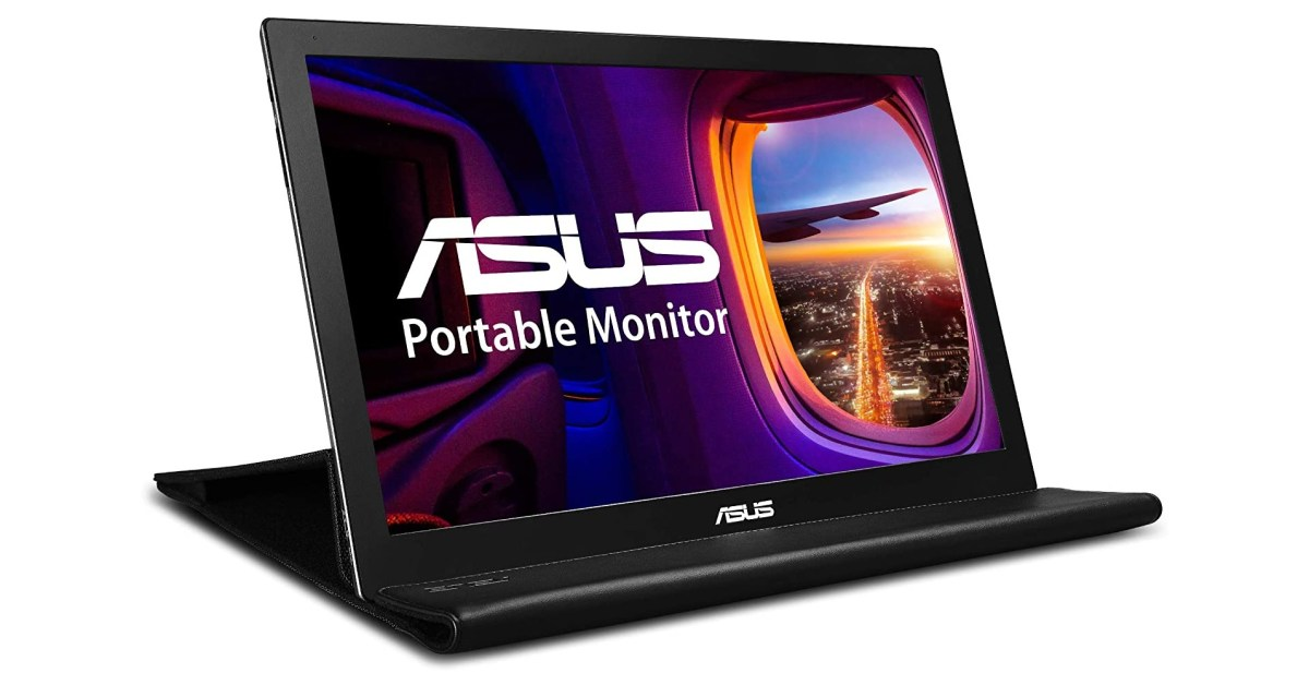 ASUS' pencil-thin 15-inch portable monitor plummets to 2021 low of $100 (Save $30) - 9to5Toys