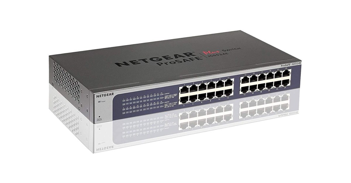 NETGEAR's managed 24-port Gigabit Ethernet switch returns to Amazon low at $100 (Reg. $150+) - 9to5Toys