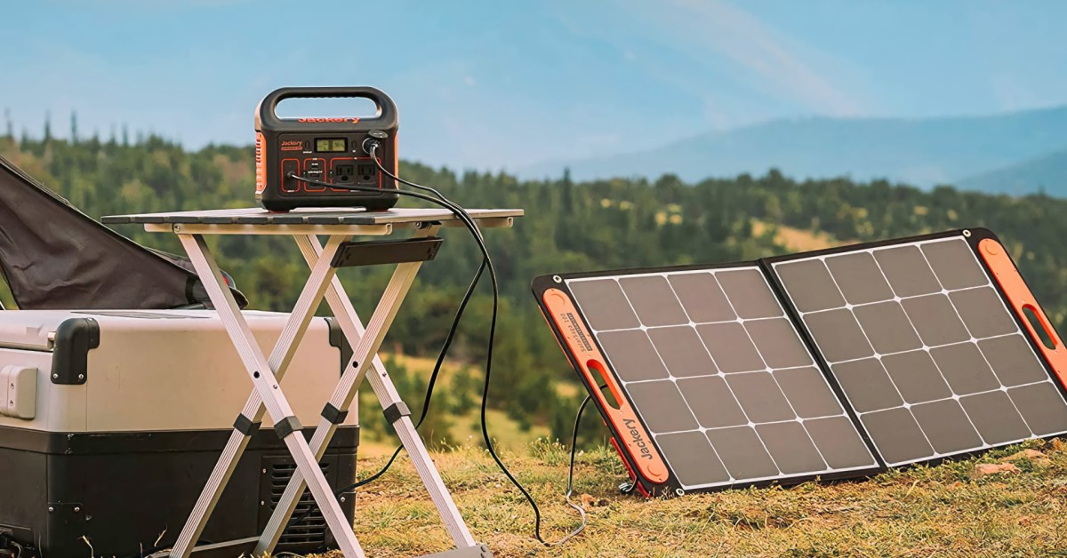 Jackery power stations and solar panels hit Amazon lows from $126 (Up to 30% off) - 9to5Toys