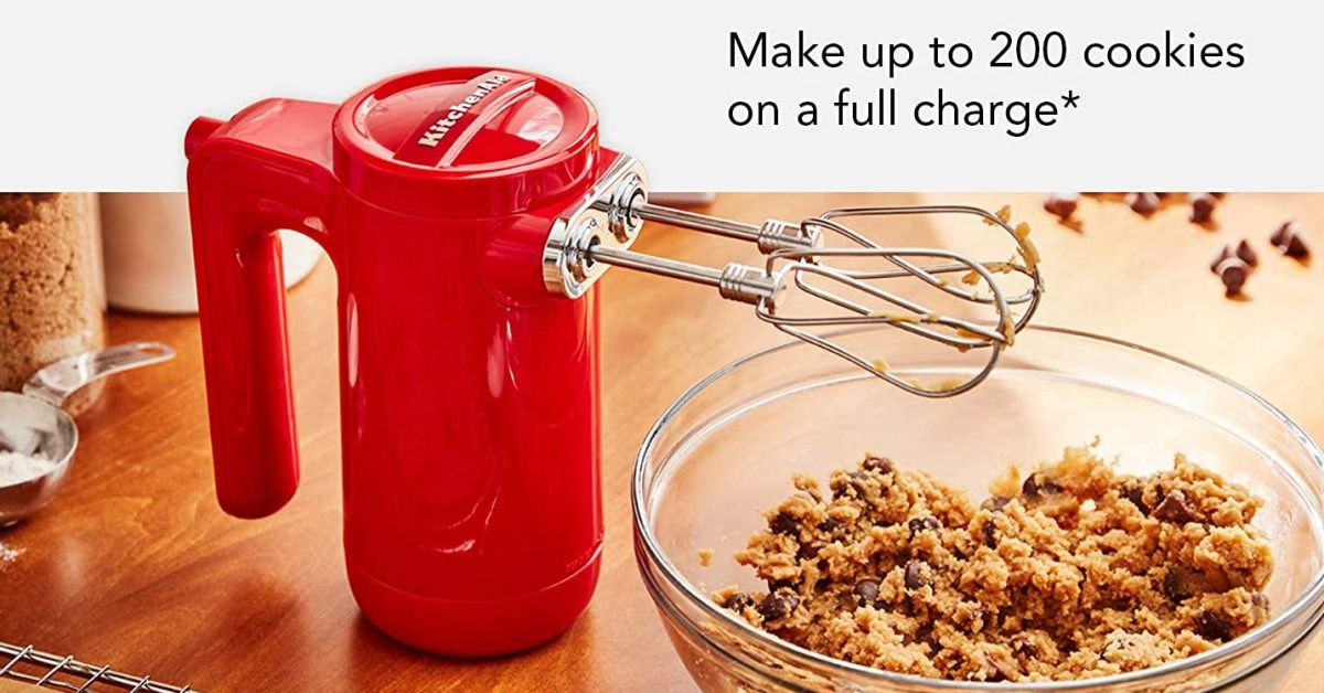KitchenAid deals live from $9 including Cordless Hand Mixer at $60 (Reg. $100) + more - 9to5Toys