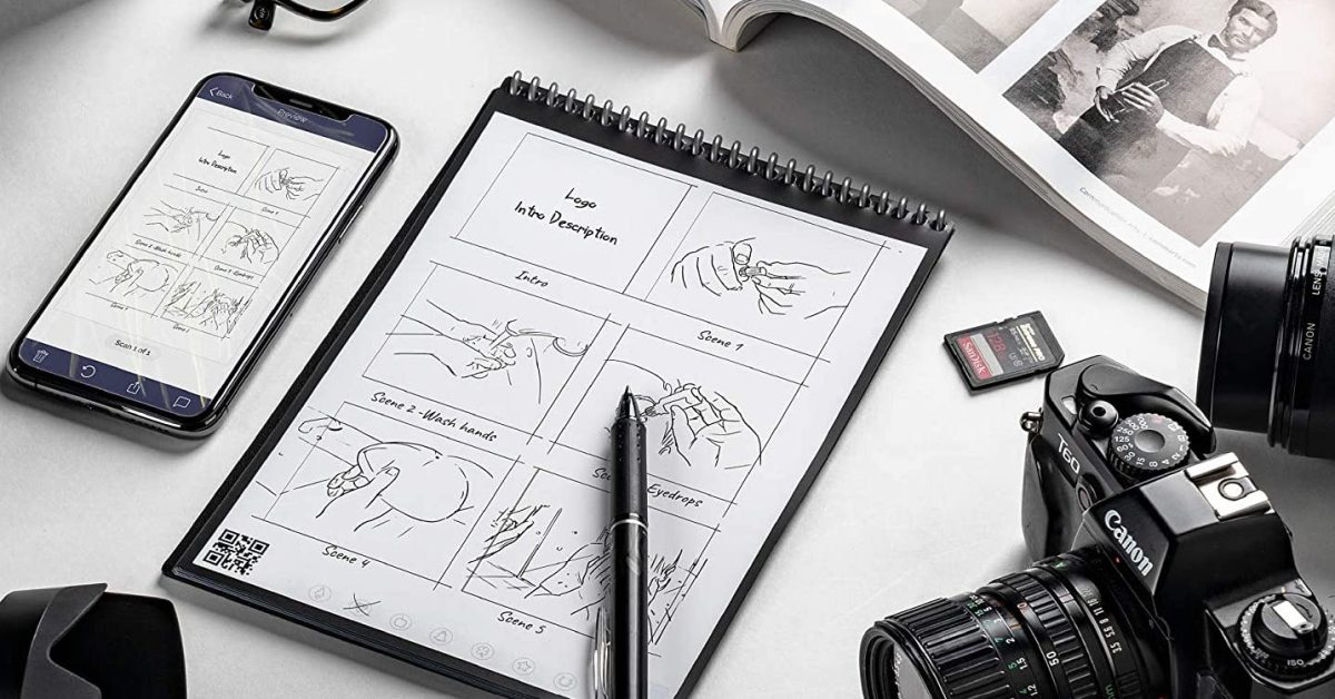 Beam your handwritten notes to the cloud: Rocketbook Flip now $23 (Amazon 2021 low) - 9to5Toys