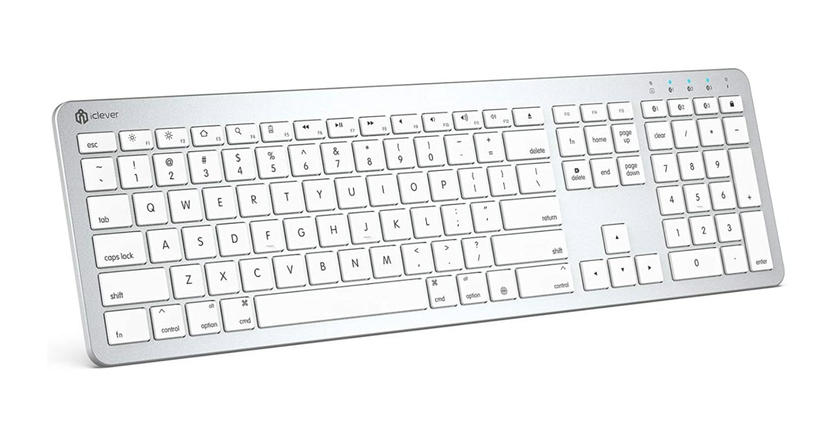 Take 45% off iClever's macOS Multi-Device Bluetooth Keyboard at $16.50