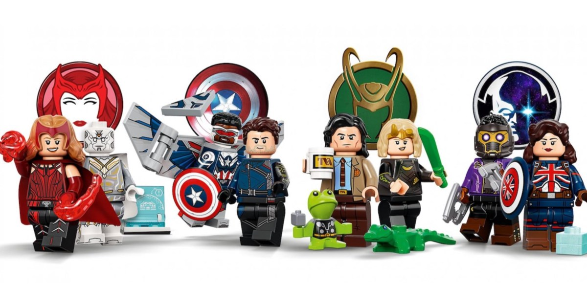 LEGO officially unveils 12 all-new collectible Marvel minifigures