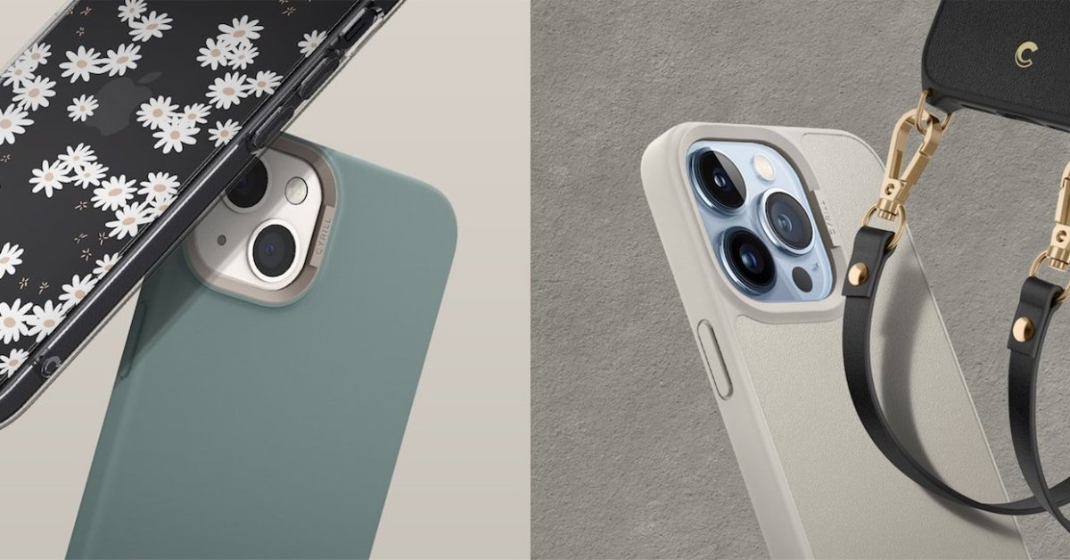 New CYRILL iPhone 13 case launch deals start from $14: Floral designs, camera rings, more