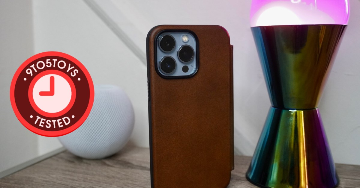 Tested: Nomad's iPhone 13 MagSafe cases continue to be the best leather covers around thumbnail