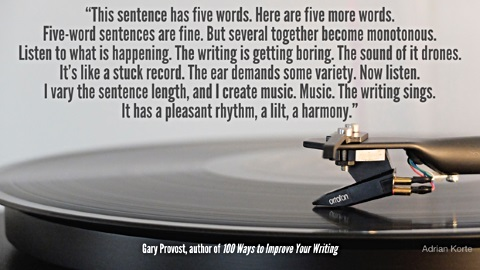 quotes about sentence length