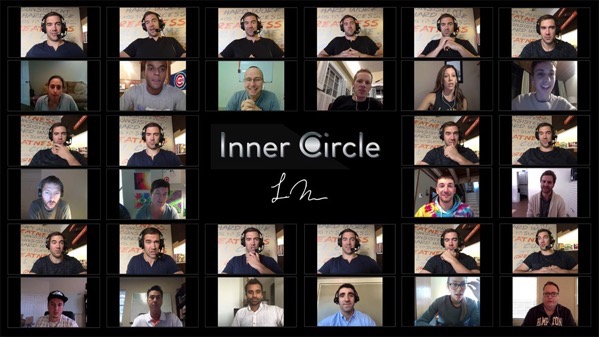 Ic circle graphic