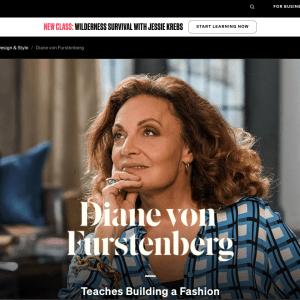 MasterClass - Diane Von Furstenberg Teaches Building a Fashion Brand
