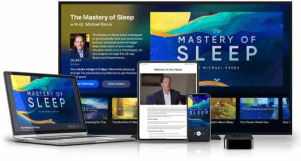 MindValley Dr Michael Breus The Mastery of Sleep Download- 9WSO Download