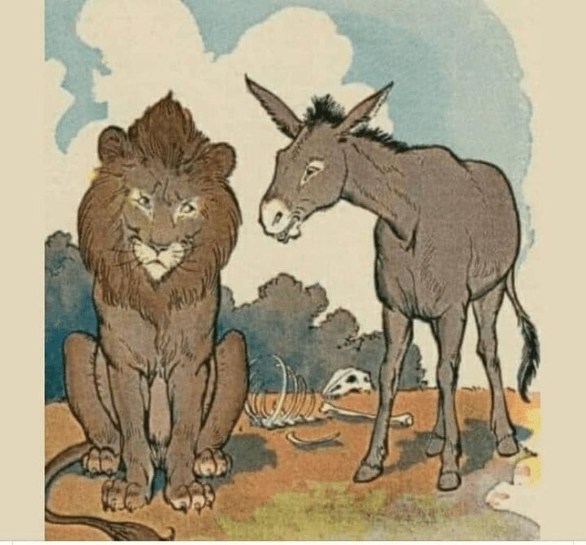 donkey and tiger fable- 9WSO Download