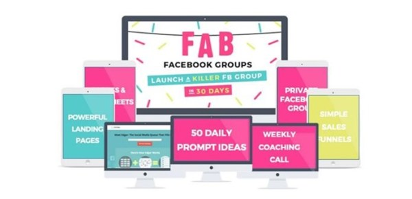 Caitlin Bacher The Fab Facebook Group System- 9WSO Download