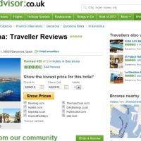 "Self-Promotion: Tripadvisor review: ""When Barcelona has take all your energy, Let W bring it all back!"""
