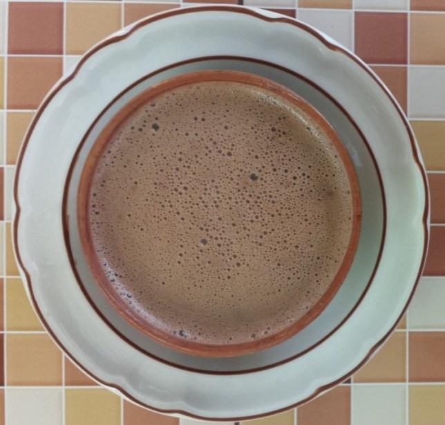 Chocolate de agua
