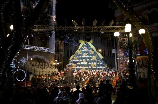 Concierto navideño de la Sinfónica de Puebla