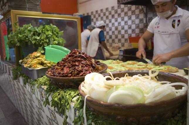 Cemitas Las Poblanitas in Puebla, - AGreatJourney.com