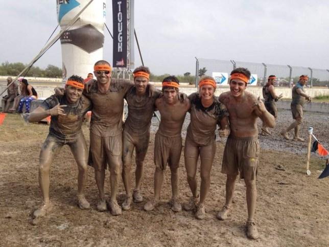 tough mudder finish
