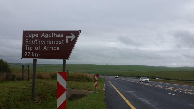 Cape Agulhas Sign