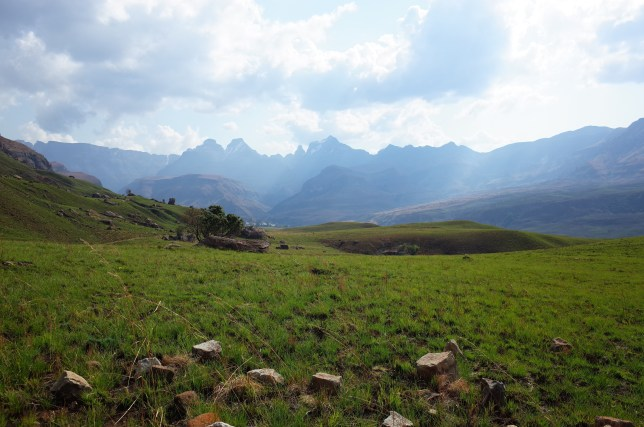 Central Drakensberg, Didima Campsite