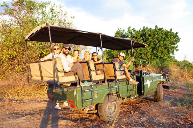 Looking for elephants at South Luangwa
