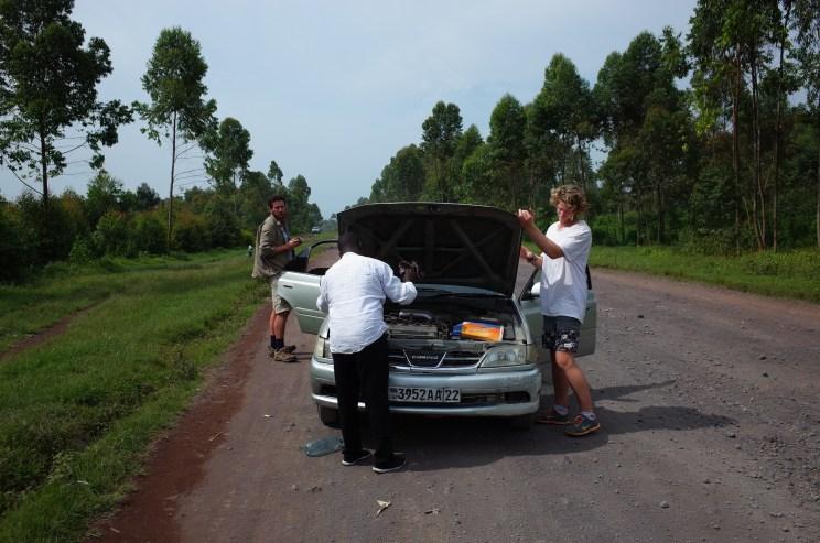 nyiragongo trek, virunga, drc