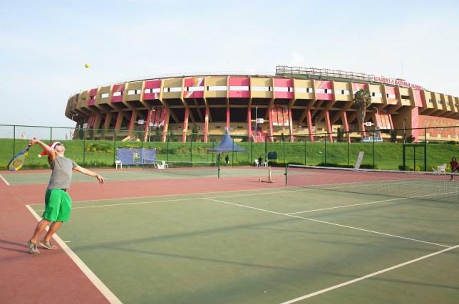 AirBnB Kampala Uganda Tennis
