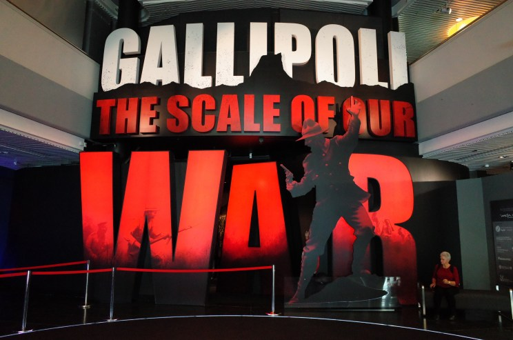 Gallipoli Exhibit Te Papa Museum Wellington