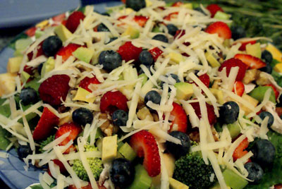 Summer Salad Close-Up