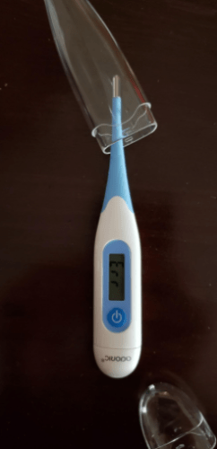 Digital Medical Thermometer, Body Thermometer for Oral Rectal Underarm Use with LCD and Memory Function for Baby, Adults, Kids and Infant photo review