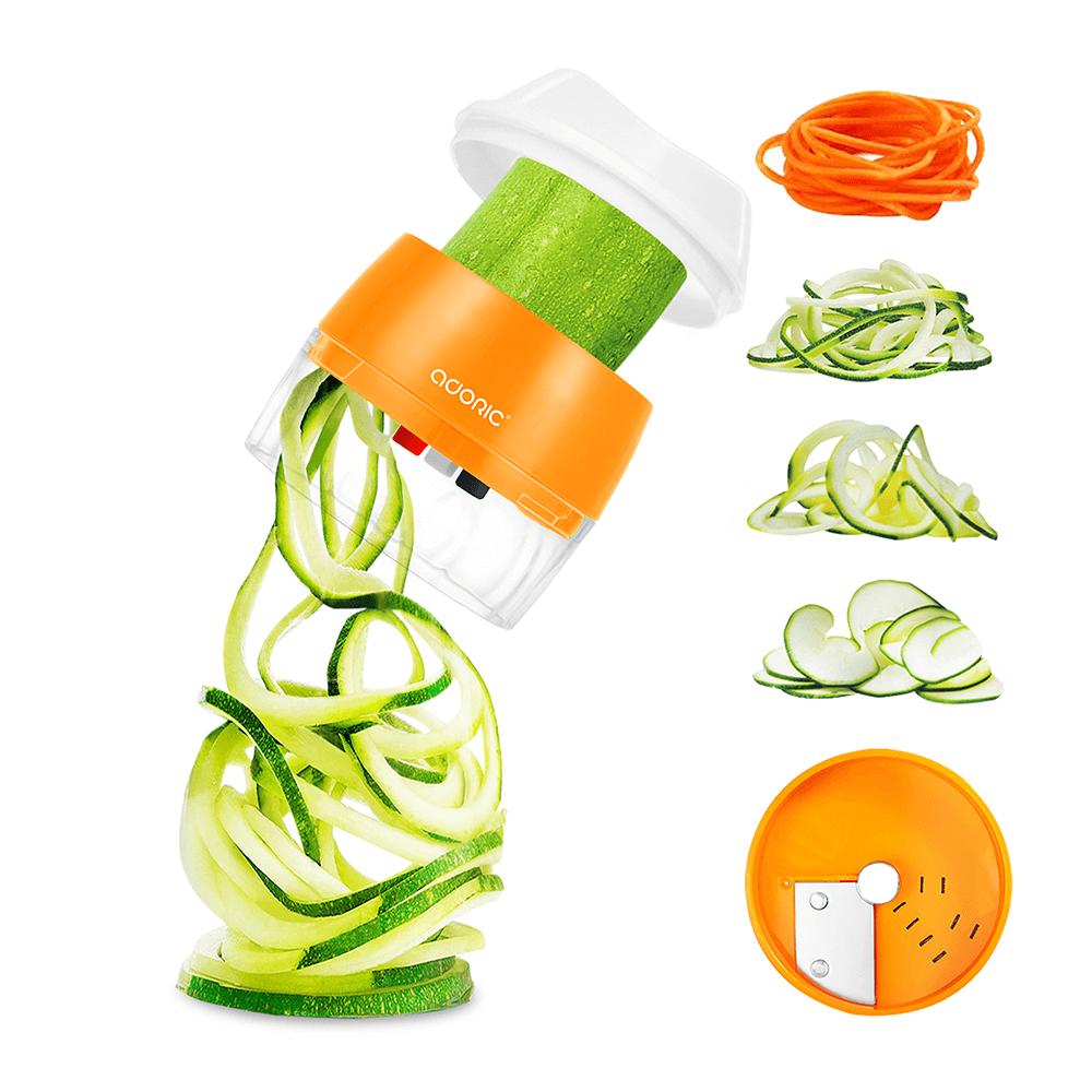 Handheld Spiralizer Vegetable Slicer