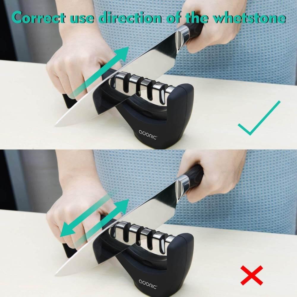 Professional 3 Stage Manual Sharpener