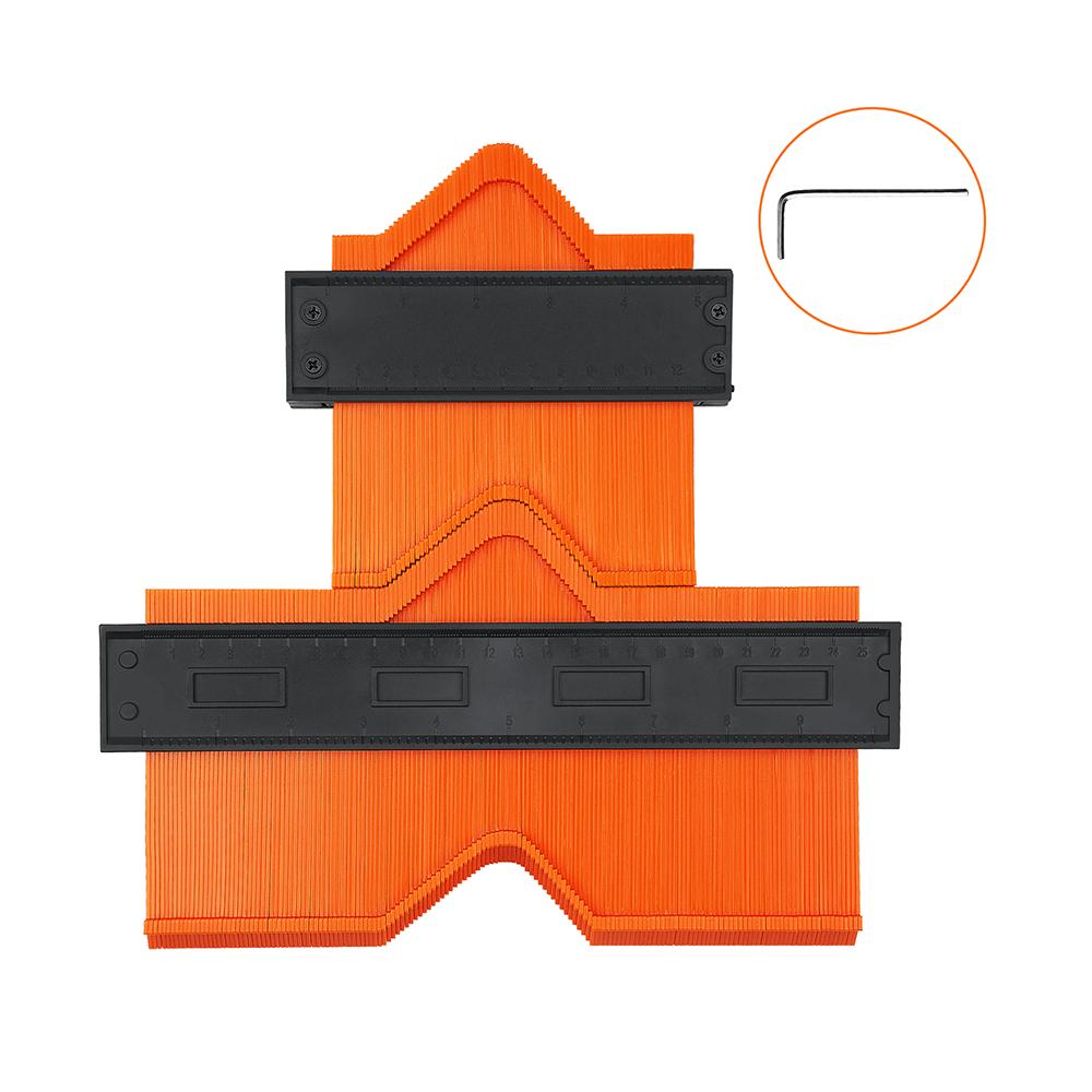 Contour gauge ruler