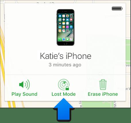 Kuinka estää iPhone, jos se varastaa sen