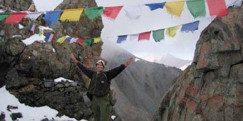 Sam Pppenheim Trekking in Northern India