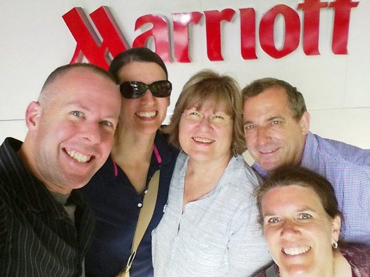 Kirk, Andrea, Pat, Charly & Tina