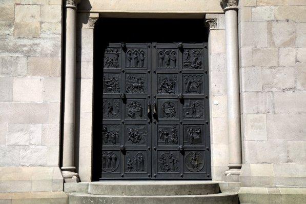The secret black door