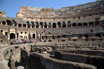 Colosseum's lower level