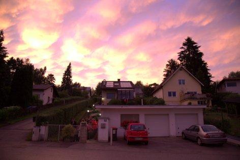 Gablitz sunset
