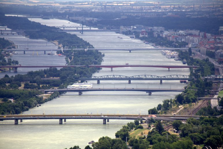 Bridges over the Danube