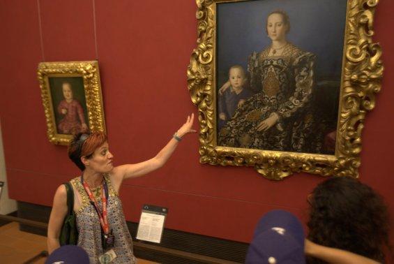 Our Uffizi tour gudie