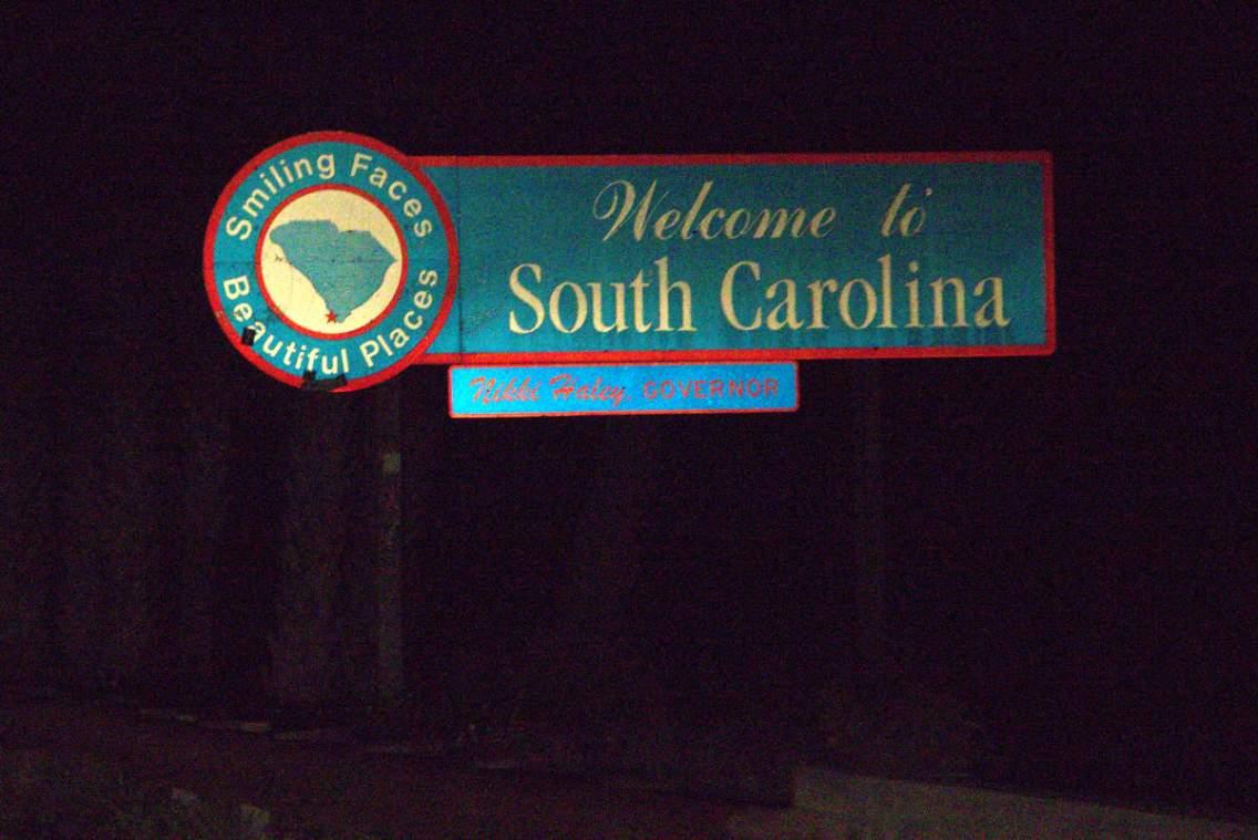Welcome to South Carolina