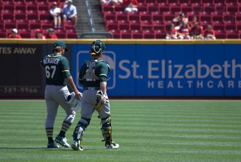Mengden's MLB debut