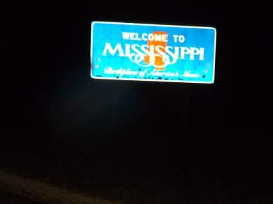 Mississippi border