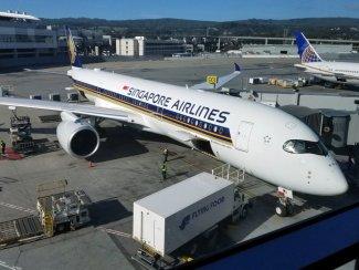 SQ31 Airbus A350-900