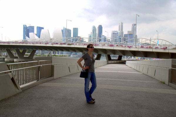 Andi in Singapore
