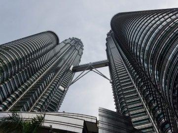 Looking up at Petrona Towers