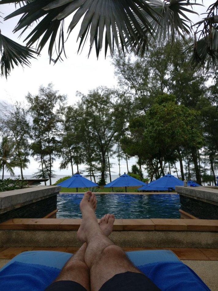 Kirk relaxing in Phuket