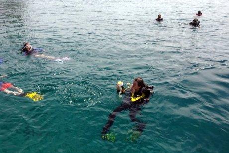 Andi the scuba diver