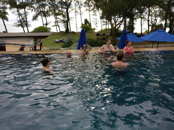 Team Same Same cooling off