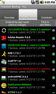 Android ROMs